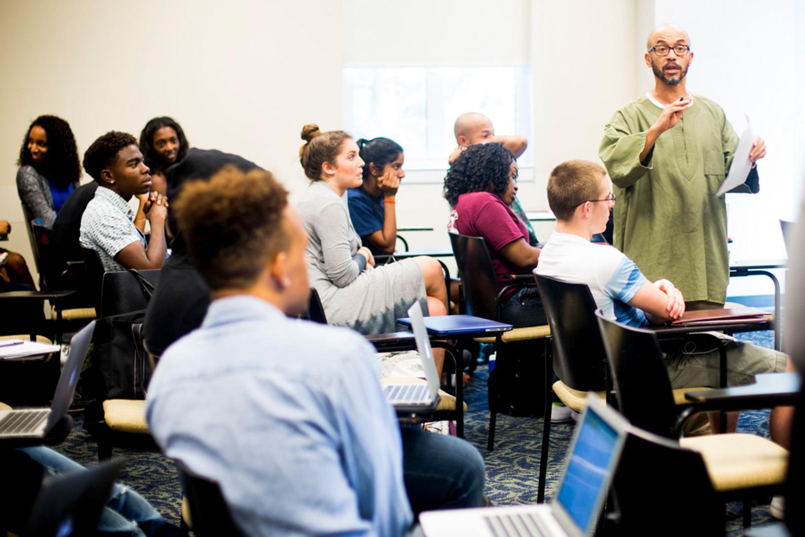African American Studies classroom
